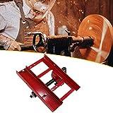 MOVKZACV Mini motosega mulino da taglio legname, motosega Mill Planking Milling, motosega Mill taglio legname per costruttori e falegnameria contiene 1 mulino motosega 1 set di attrezzi di montaggio
