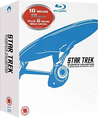 Star Trek Film 1-10 - Collezione Blu-ray - Stardate Collection [Edizione: Europa]