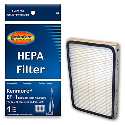 of kenmore dishwasher filters EnviroCare Replacement HEPA Vacuum Cleaner Filter Designed to fit Kenmore EF-1 for Select Canisters and Uprights