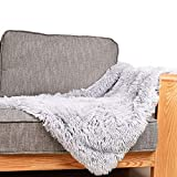 Dog Cat Bed Fleece Blanket Cover for Pets, Fluffy Shag Dog Pet Throw Blanket for Small, Medium Dogs, Cats, Multiple Use for Couch Protection, Dog Bed, Sofa and Car Backseat (Medium 21'x 31')
