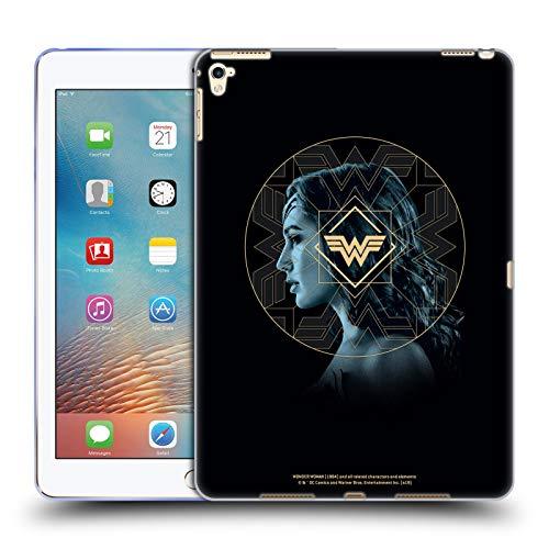 Official Wonder Woman 1984 Gold Portrait Logo Art Soft Gel Case Compatible for Apple iPad Pro 9.7 (2016)