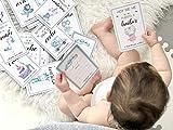 Tarjetas bebé primer año español, 44 tarjetas baby cards, Baby milestones cards. Tarjetas baby cards para hacer fotos al bebe en su primer año de vida.