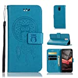 Domxteck PU phone case with multi-function ID credit card