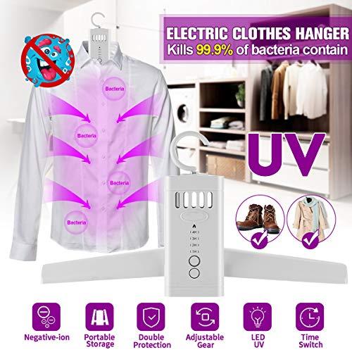 Portable UV desinfectie Sterilizer Clothesline kleerhanger Schoenen Heater Led Strip sterilisator Wasdroger