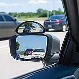 Mediawave Store - AllRide Specchietto retrovisore 003818 per punto cieco, Angolo morto 15x7cm Universale, Specchio Angolo Cieco aggiuntivo Regolabile Auto Specchio Laterale. Retrovisore Angolo Cieco