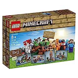 Minecraft plush set Minecraft Lego Crafting Box