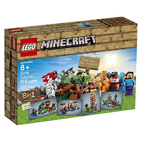 Lego Minecraft Crafting Box [21116 - 518 PCS]