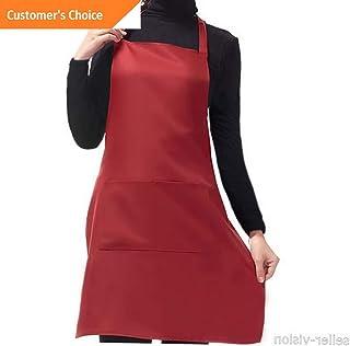 Kaputar Apron Commercial Restaurant Home Bib Spun Polyester Kitchen Aprons(2 Pockets) | Model-200