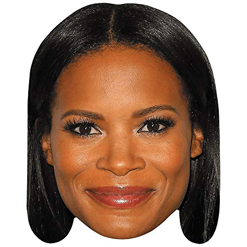 Celebrity Cutouts Rose Rollins (Smile) Big Head. Larger than life mask.