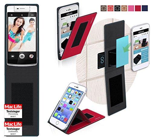 Hülle für Oppo N3 Tasche Cover Hülle Bumper | Rot | Testsieger