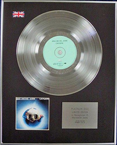 JEAN MICHEL JARRE - edición limitada - CD de disco de platino oxígeno