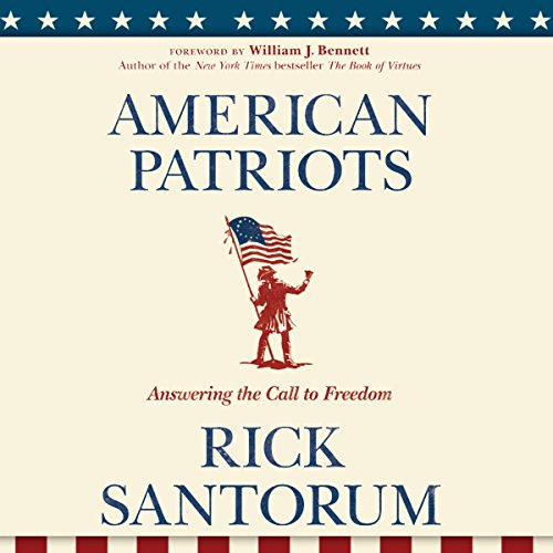 American Patriots audiobook cover art