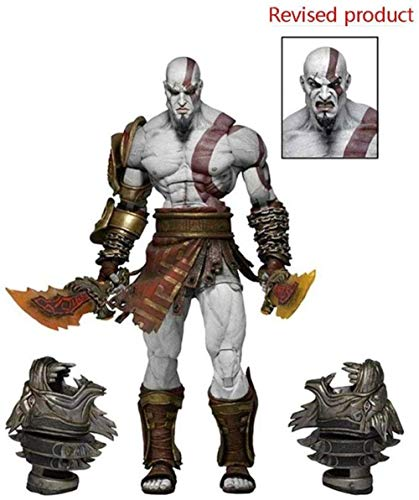 God of War 3 Ultimative Kratos Actionfigur Ghost of Sparta PVC Figur Modell Spielzeug 7