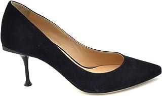 moda clasica Sergio Sergio Sergio Rossi Mujer MCBI37161 Negro Gamuza Zapatos De Tacón  compras online de deportes