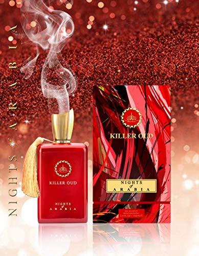 Perfume unisex Killer Oud Nights of Arabia Edp 100 ml por Paris Corner