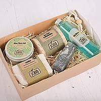 Men's Cleanse Luxury Gift Set | Shampoo Bar & Shower Gel | Pamper Kit for Men