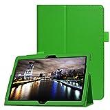 Lobwerk Hülle für Huawei MediaPad T3 10 Stand Hülle 9.6 Zoll aufstellbar Kunstleder + GRATIS Stylus Touch Pen