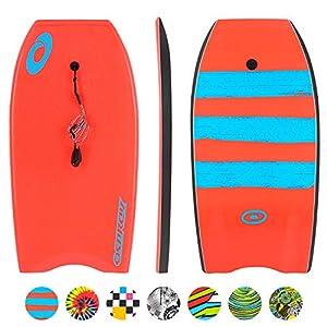 Osprey Xpe Stripe Bodyboard con Correa Boogie Board para niños, Unisex Adulto 4