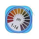 MISHITI 5 m pH Papel de Prueba de ácido alcalino Prueba de tornasol de Agua para Plantas de Acuario de jardinería