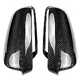 SLONGK Decorazione della Sostituzione dei Cappucci degli specchietti retrovisori Laterali in Fibra di Carbonio, per Audi A3 P8, A4 A5 B7, A6 C6 2003-2008