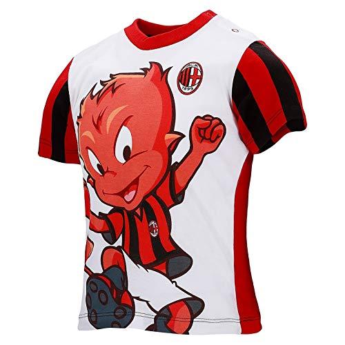 Milan T-shirt Neonato wit DIAVOTTO 12/36 maanden officieel