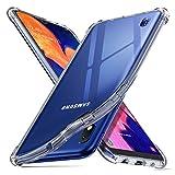 ORNARTO Coque Samsung A10, Clair Protecteur Housse Anti-Choc Anti-Scratch Bumper Silicone Cover...