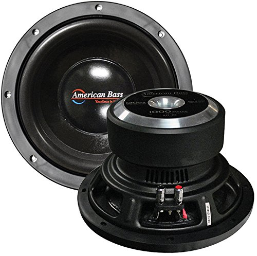 """American Bass 10"""" Wooofer 900W Max Dvc 4Ohm 150Oz Magnet by American Bass"""