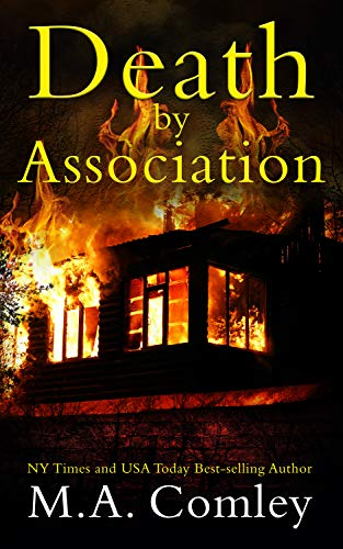Death by Association: The Wellington Cozy Mystery series by [M A  Comley]