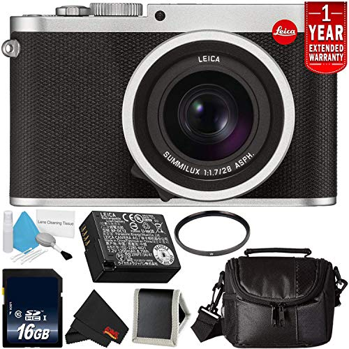 Best Price Leica Q (Typ 116) 24.2 MP Digital Camera (Silver Anodized) 19022 Bundle with 16GB Memory ...