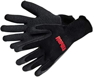 Rapala Fisherman's Gloves, X-Large , Black