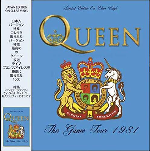 Queen - The Game Tour 1981 (Japan Edt. Clear Vinyl) [Vinyl LP]