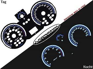 LETRONIX Plasma Tacho Tachoscheiben f/ür Auto E-Klasse W124 20-260Kmh 7000U//Min
