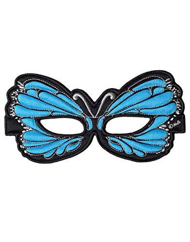 Dreamy Dress-Ups 50755 Mask, Blue Butterfly (masque en tissu, papillon, bleu)