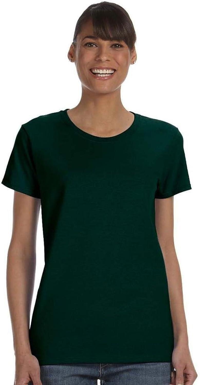 Gildan Missy Fit Heavy Cotton TShirt  Forest Green  3XL