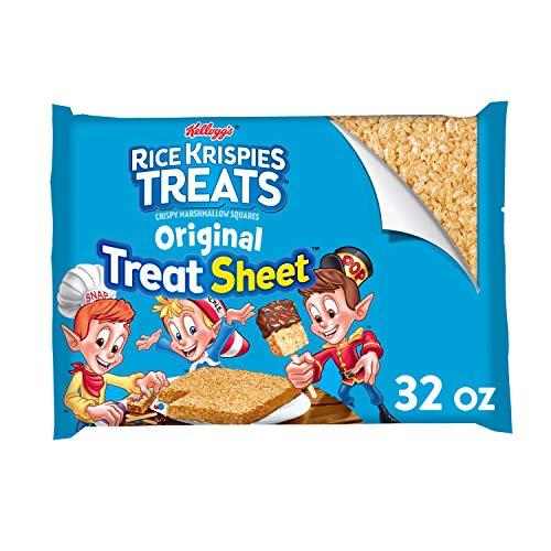 Rice Krispies Treats Kellogg s, Crispy Marshmallow Squares, Original, Fun Sheet, 32 oz Sheet