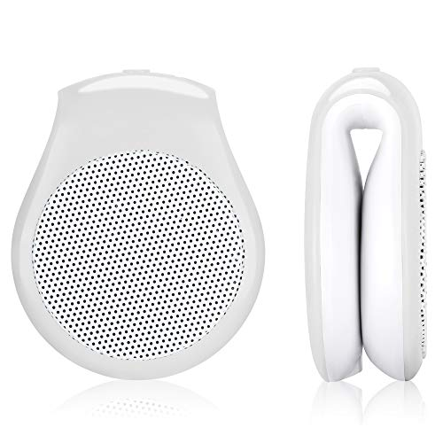 Best Buy! Baby Bump Clip Speaker White, Plays Music, Sound and Voices to The Womb, Premium Baby Bump...