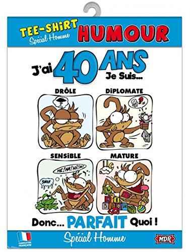 Surprisez-vous - Tee Shirt Humour Homme 40 Ans