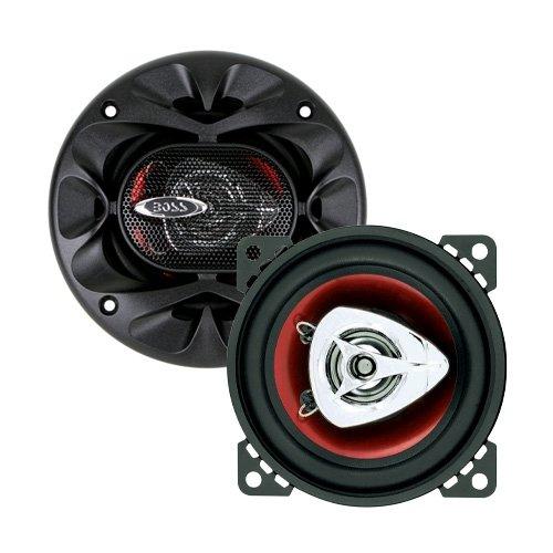 Boss Audio Systems CH4220 - Altavoces coaxiales para coche de 200W, negro