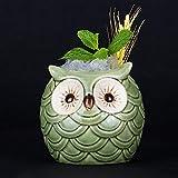Ceramic Owl Personality Style TIKI Mug Ceramic Cup Creative Cocktail Glass Hawaiian Tiki Totem