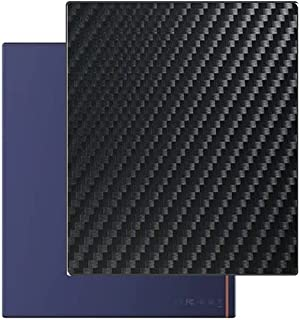 二枚 Sukix 背面保護フィルム 、 BOOX Note Air 10.3インチ 向けの ブラック カーボン調 TPU 保護フィルム 背面 フィルム スキンシール 背面保護 背面フィルム(非 ガラスフィルム 強化ガラス ガラス )