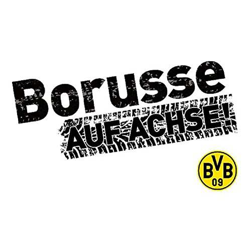 Borussia Dortmund BVB Autoaufkleber (schwarz, one Size)
