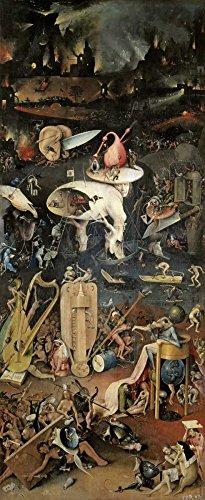 Feeling at home Impresion-en-Papel-Giardino-Delle-Delizie-Dettaglio,-Pannello-di-Destra-Bosch,-Hieronymus-Figurativo-97_X_38_cm