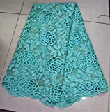 African lace Fabric George lace Fabric New Arrival Sequins lace Fabric for Party Alibaba Express DS