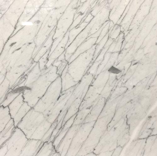 Carrara Marble Italian White Bianco Carrera 12x12 Marble Tile Polished