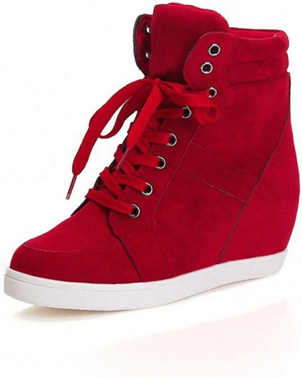 T-JULY Height Increasing Women Designers Platform Sneakers Women shoes Wedges shoes for Women Luxury shoes