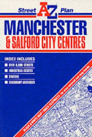 A. - Z. Street Plan of Manchester and Salford City Centres