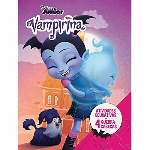 Disney Aprender Brincando – Com 4 Quebra-cabeças – Vampirina