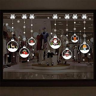 Mural ZOZOSO 2018 Feliz Navidad Hogar De La Pared De La Etiqueta Engomada Mural Decoración Extraible De Navidad Pegatinas En La Ventana Adhesivos De Oc20