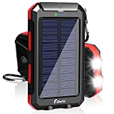 Best Solar Chargers - Solar Charger, F.DORLA 20000mAh Solar Power Bank Portable Review