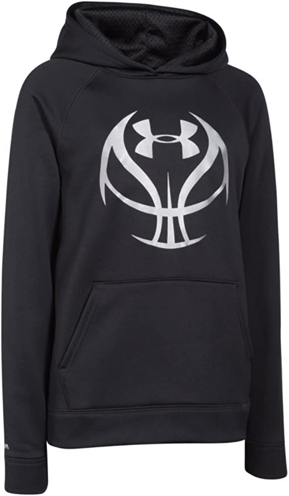 Under Armour Boy's Storm Armour Fleece Basketball Logo Hoodie